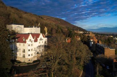 Fantastic views from Aldwyn's Restaurant