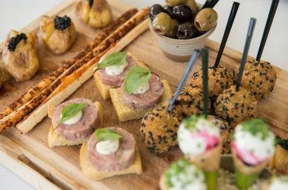Canapes at Aldwyn's